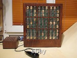 MONJIBOX NIXIE huge Nixie Display Clock SUDOKU game IN12 tubes