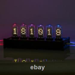 Modern Digital IPS Tube Clock Large Display PC Control DIY Gift Ref Nixie Clock