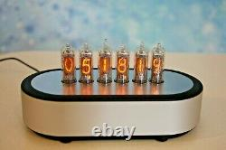 Monjibox Nixie clock uhr with IN16 tubes with Aluminium case