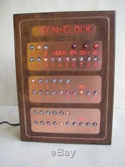 Monjibox Steampunk NEON Nixie CLOCK US Version