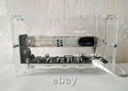NEW handmade NIXIE era tube CLOCK IV-18 VFD Ice tube clock similar nixie clock