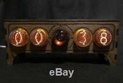 NIXIE Tube Clock vintage Pulsar IN-4 + Decatron OG4 USB