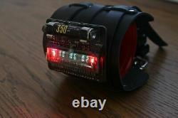 NIXIE VFD ERA WRIST WATCH CLOCK BASED ON IV-28 Date Temparature Display Seconds