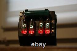 NIXIE VFD ERA WRIST WATCH CLOCK BASED ON IV-3 Date Temparature Display METRO