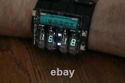 NIXIE VFD ERA WRIST WATCH CLOCK BASED ON IV-3A Date Temparature Display METRO
