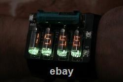 NIXIE VFD NUMITRON ERA WRIST WATCH CLOCK IV-9 Date Temparature Display METRO