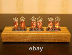 NIXIE clock 6x tube IN-14 (included)