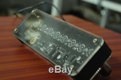 NIXT CLOCK 100% Assembled IV-17 VFD Tube Clock Scrolling Text nixie era