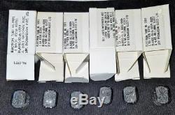 NL5971, B5971, B-5971 Alphanumeric Nixie Tubes 6 pcs, NOS/NIB, MOD-SIX Clock