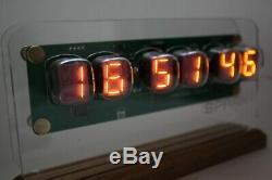 NUMITRON IV-19 CLOCK NIXIE ERA WITH TUBES Remote Temp Humidity Pressure