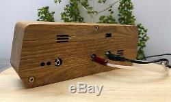 Nixie Clock IN-12 6-Tube Full Natural wood #000188