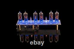 Nixie Clock IN-14 Tubes USB RGB Musical Arduino compatible WITH TUBES GRA&AFCH