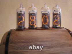 Nixie Clock IN14 IN12 tubes Thermometer Hygrometer model Bacchus by Monjibox