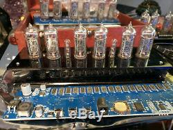 Nixie Clock Kit With Tubes IN-14 PCBA Just Install The Tubes