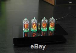 Nixie Clock / Uhr mit vier Z570M Tubes / Röhren Alarm und Glockenspiel