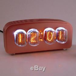 Nixie FunKlock Clock / Uhr + Finned Case (Copper Finish) + 1 Spare Tube
