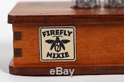 Nixie Röhren Uhr 4x IN-14 Jahrgang Retro Uhr Röhre Tischuhr Nixie Tube Clock