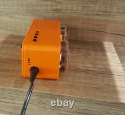 Nixie Tube Clock 4x IN 12 3D printer chassi