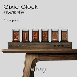 Nixie Tube Clock-6 Bit RGB LED Glow Digital Clock