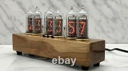 Nixie Tube Clock Easy Replaceable IN-14 Nixie Tubes, AppleTree, Home Decor 327