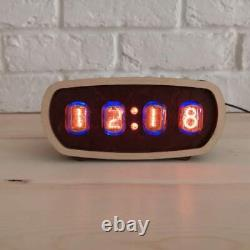 Nixie Tube Clock IN-12 Nixie Clock retro Nixie Clock / Vintage / Retro / Table C