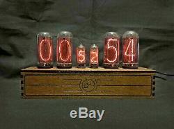 Nixie Tube Clock Pulsar IN18+IN8 RGB 6-tubes