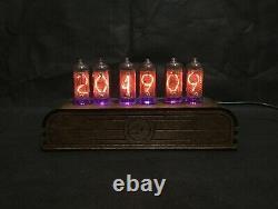 Nixie Tube Clock Pulsar IN8-2 RGB 6-tubes