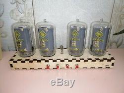 Nixie Tube Clock / Rare Indikators Z5680m / Handmade