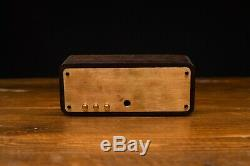 Nixie Tube Clock with IN-12 TUBES IN WOODEN CASE ECO-FRIENDLY