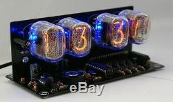 Nixie Tube clock KIT with IN-12 LED Alarm WHITE