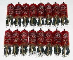 Nixie Tubes ZM1080 Telefunken TFK Nixies Z570M Z573M ZM1082 Clock, TESTED 16pcs