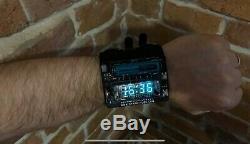 Nixie Vfd Era Wrist Watch Clock Based On Ivl2-7/5
