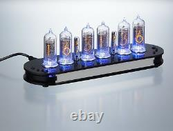 Nixie clock, Nixie tube clock, Nixie Uhr, Nixie IN-14 made in Germany