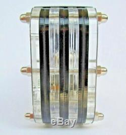 Nixie clock nixie tube clock homemade handmade vintage retro tubes desk VFD ICE