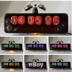 Nixie clock tube 2 exclusive handmade gas lamp models in-12 great gift boss
