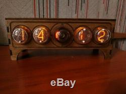 Nixie clock tube IN4 DECATRON OG-4 assembled adapter by RetroClock