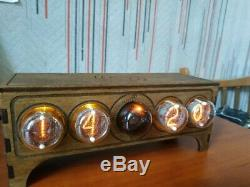 Nixie clock tube IN4 DECATRON OG4 assembled adapter by RetroClock