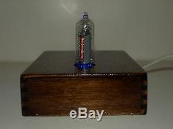 Nixie clock warm light tubes retro style alarm clock calendar free thermometer