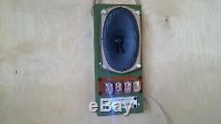 Nixie tube clock 4xIN-12 Wall Clock