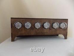 Nixie tube clock IN 1 table desk retro old vintage clock for bedroom JTNlab