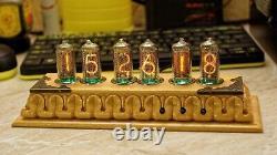 Nixie tube clock IN-8-2 6 tubes RGB body