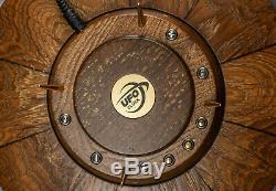 Nixie tube clock UFO Style Vintage Desk Clock In-14 In 14 In-14 RGB case oak