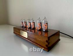 Nixie tube clock With IN 14 Tubes. Great Gift Idea