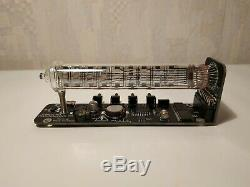 Nixie tube clock assembled vintage tube desk IV-18 Ice tube clock Adafruit VFD