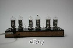 Nixie tube clock with 6pcs RFT Z570M tubes enclosure FINE 5 NOT UPSIDE DOWN 2