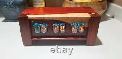 Paduk In 12 Nixie Tube Clock- Made to order wifi enabled