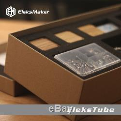RGB LED Glow Clock Retro Digital Clock Nixie Tube Clock KIT 6 Digit Tubes Date