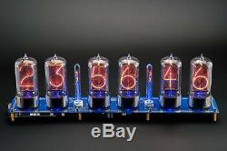 RZ568 Arduino Shield EXTRA LARGE 6 TUBES Nixie Clock 6 TUBES OPTIONAL