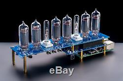 Raspberry Pi Hat Nixie Tubes Clock IN-14 Shield NCS314, Remote, GPS, Temperature