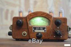 Retro Nixie Tube Clock on soviet tubes Unique Gift with tubes Metro 2033 Fallout